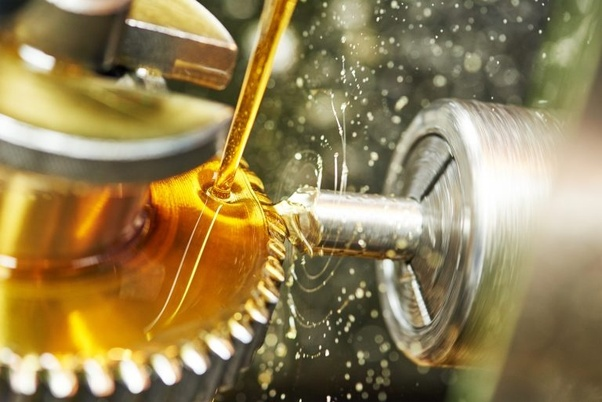How does lubrication reduce friction?