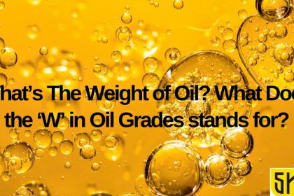 What's The Weight of Oil? What Does the 'W' in Oil Grades stands for?