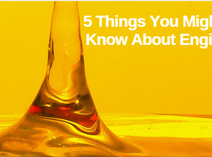 5 Things You Might Not Know About Engine Oil